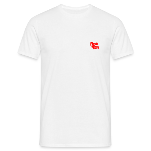 PurpleMoney Red Authentic Logo - Men's T-Shirt