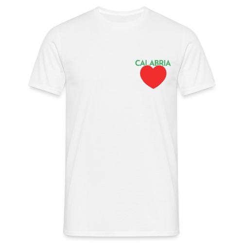 Disprocal TShirt Design Calabria Herz - Männer T-Shirt