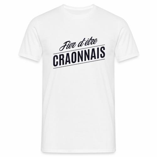 Fier d'être Craonnais - Craon - T-shirt Homme