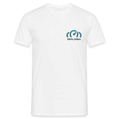 RealDash logo color - Men's T-Shirt