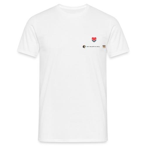 #frankrosinliebtuns - Männer T-Shirt