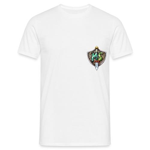 MineSucht Logo - Männer T-Shirt