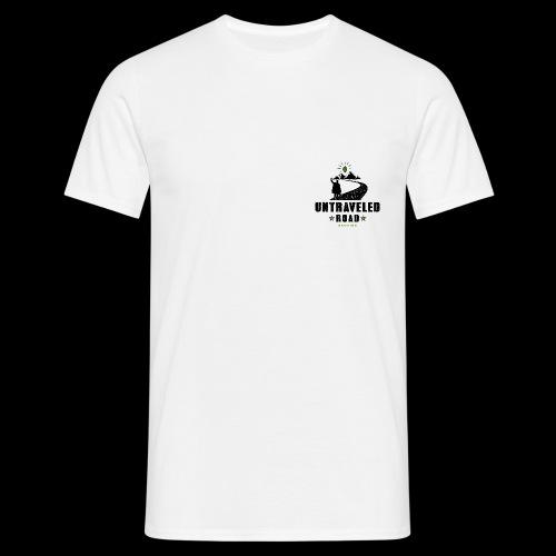 Untraveled Road Logo - black/small - Männer T-Shirt