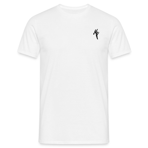 Black Signature MP Logo - Men's T-Shirt