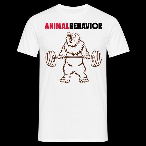 Animal behavior color oben - Männer T-Shirt
