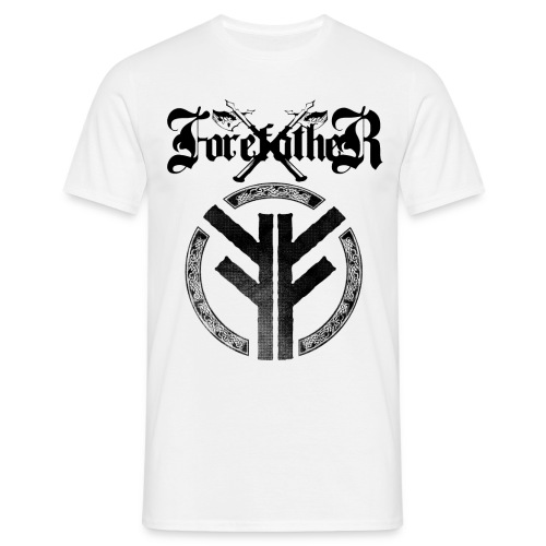 Forefather logo and symbol black - Men's T-Shirt