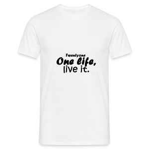 21-One life - T-shirt Homme
