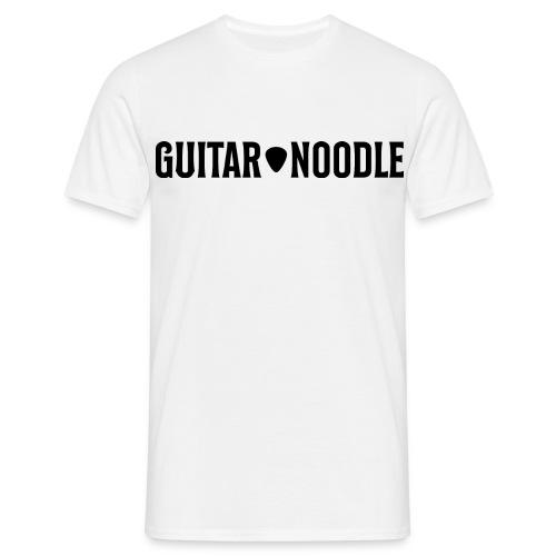 Guitar Noodle Logo - Men's T-Shirt