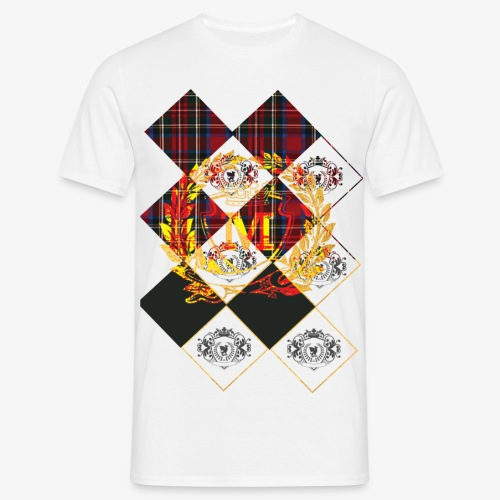 Check 1 Gold Hard Mix 10 1 - Mannen T-shirt