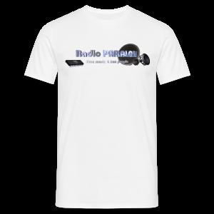 Radio PARALAX Facebook-Logo - Männer T-Shirt