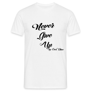 Never Give Up By OverDrive - Camiseta hombre