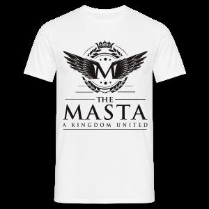 Die MASTA - Ein Königreich United / Full Logo - Männer T-Shirt
