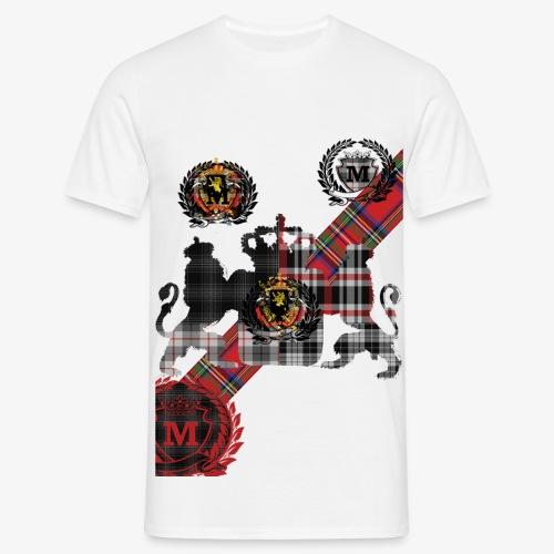 Schield2 3 - Mannen T-shirt