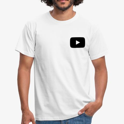 Youtube Logo - Männer T-Shirt