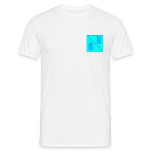 Random Network White T-Shirt (Design 2) - Mannen T-shirt