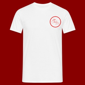 Logo Rond / Rouge - T-shirt Homme