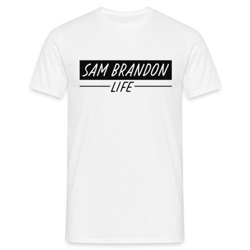 SamBrandonMerchandise - SamBrandon Box Logo - Men's T-Shirt