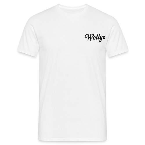 Wottyz Black Edition - Men's T-Shirt