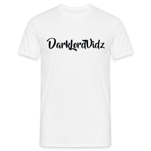 DarklordVidz Black Logo - Men's T-Shirt