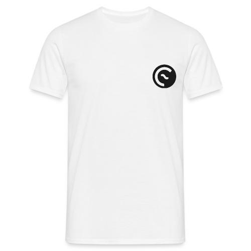 Eisbach Callin´ Logo Schwarz - Männer T-Shirt