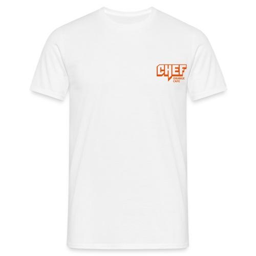 T-Shirts mit ORCA CHEF Logo - Männer T-Shirt