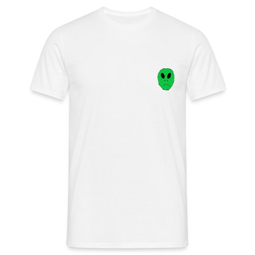 Alien Head - Men's T-Shirt