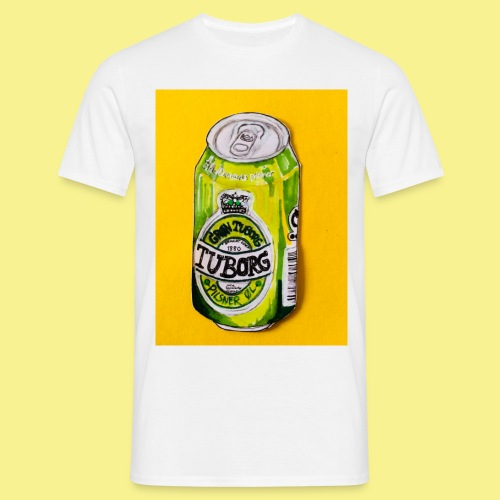 Gul Øller's - Herre-T-shirt