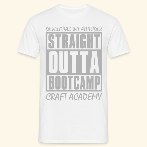 Straight Outta Bootcamp - Men's T-Shirt