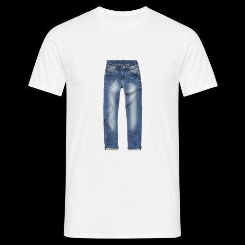 Jeans - Männer T-Shirt