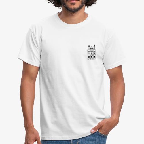 Speyer - Dom - Minimal - Modern Font - Männer T-Shirt