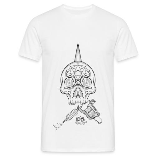 Skull tattoo - T-shirt Homme