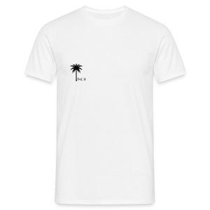 Palm - Black & White - Herre-T-shirt