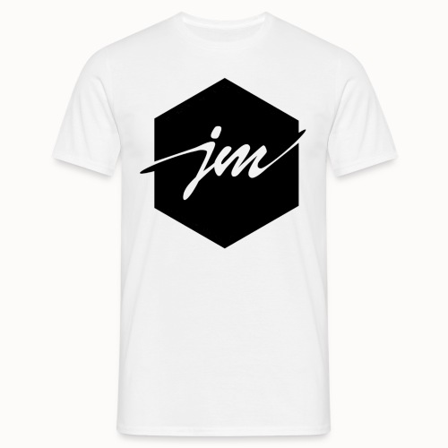 JMclothing | Blank Black - T-shirt herr