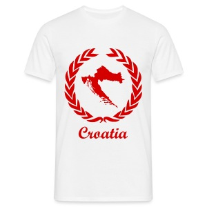 Connect ExYu Croatia Red Edition - Männer T-Shirt