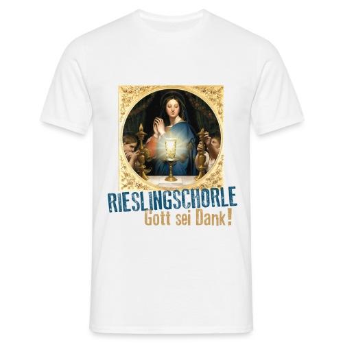 Rieslingschorle - Gott sei Dank! - Männer T-Shirt