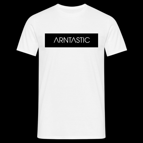 ARNTASTIC balken schwarz - Männer T-Shirt