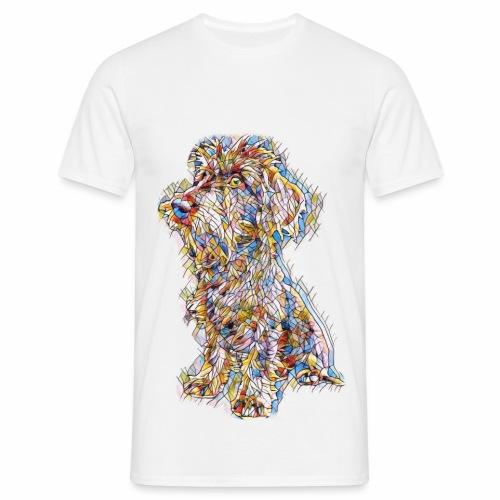 Dackel Art Henri Dackelfieber - Männer T-Shirt
