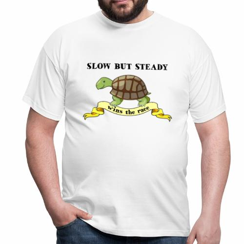 Slow but Steady - T-shirt herr