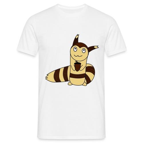 Wiesel in Farbe - Männer T-Shirt