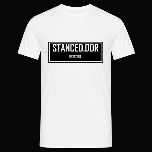 STANCED.DDR - Männer T-Shirt