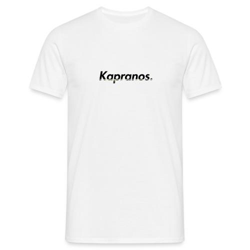 Kapranos Brand (Black / Camo) - Men's T-Shirt