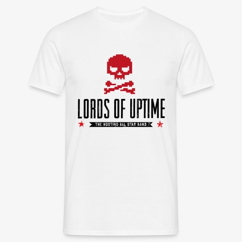 Lords of Uptime black - Männer T-Shirt