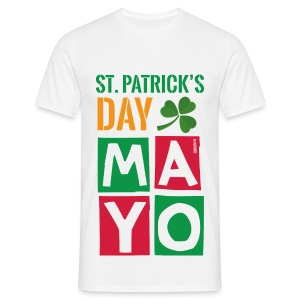 Celebrate St. Patrick's Day in Mayo - Men's T-Shirt