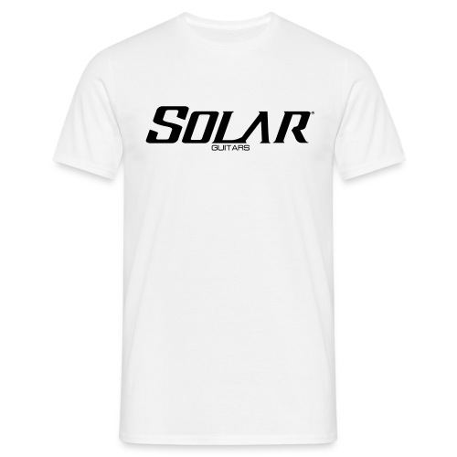Solar Guitars Word Black - Men's T-Shirt