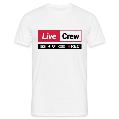 Live crew - Maglietta da uomo