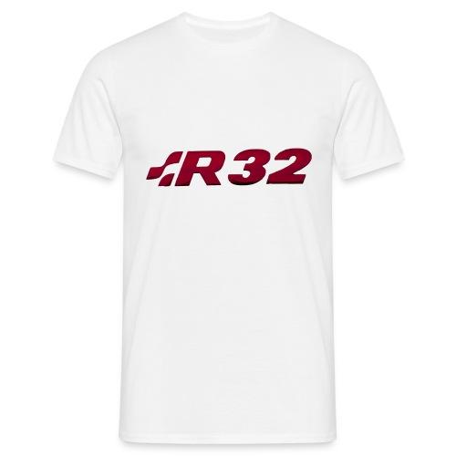 R32 Chrome Red - Männer T-Shirt