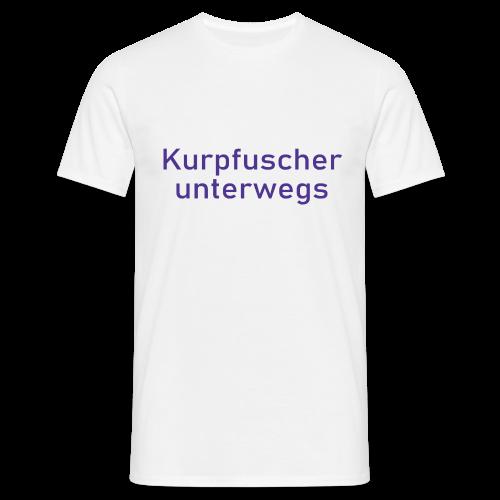 Kurpfuscher unterwegs - Das Robert Franz T-Shirt - Männer T-Shirt