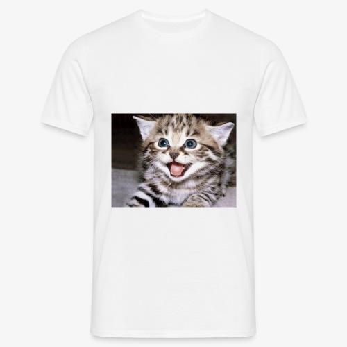 Cute Cat - Men's T-Shirt