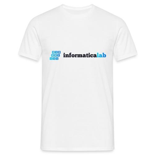 InformaticaLab logo for white background - Maglietta da uomo