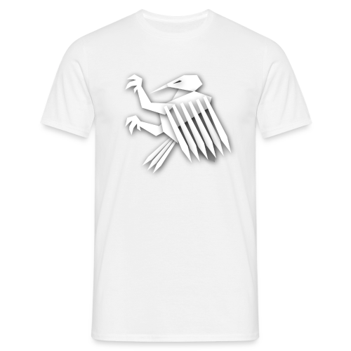 Nörthstat Group ™ White Alaeagle - Men's T-Shirt
